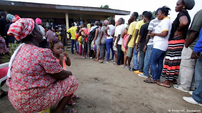Liberia Monrovia Wahlen