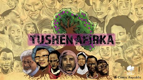 Key Visual African Roots Haussa (Comic Republic)