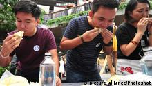 DURIAN EATING CONTEST