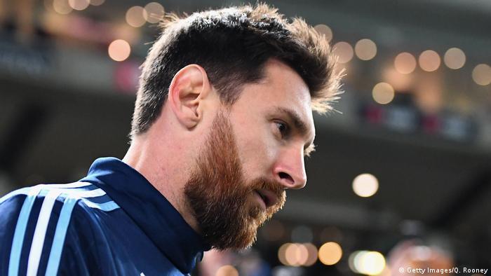 Fußball Nationalspieler Argentinien Messi (Getty Images/Q. Rooney)