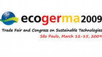 Brasilien Logo der Messe Ecogerma 2009