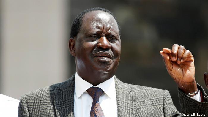 Kenia Nairobi Opposition ehemailger Präsident Raila Odinga (Reuters/B. Ratner)