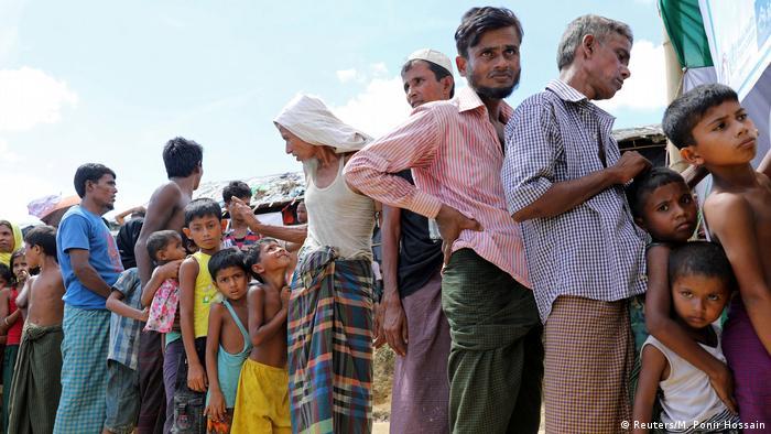 Bangladesch Flüchtlingslager Rohingya Cholera Impfung (Reuters/M. Ponir Hossain)
