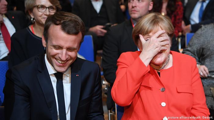 Deutschland Frankfurter Buchmesse 2017 Eröffnung Merkel und Macron