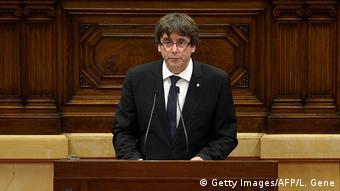 O Καταλανός Πρωθυπουργός Κάρλες Πουτζντεμόντ