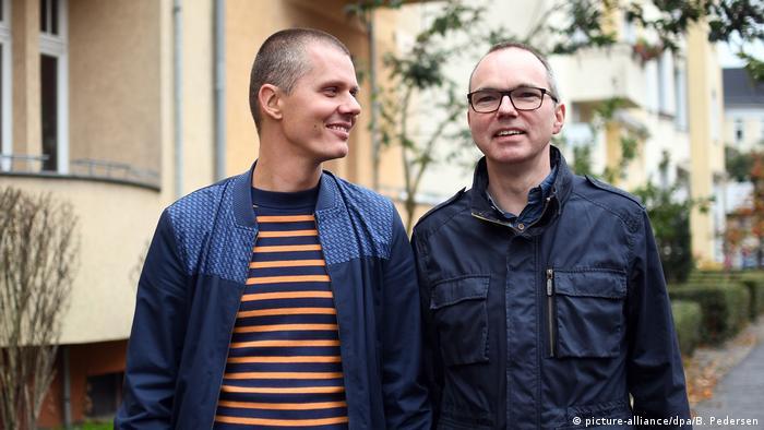 Michael and Kai Korok (picture-alliance/dpa/B. Pedersen)