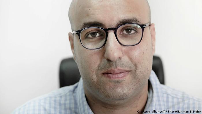Ägypten Mohamed Zaree erhält den 2017 Martin Ennals Award