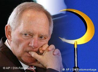Symbolbild Schäuble/Islam (Foto: AP/Montage: DW)