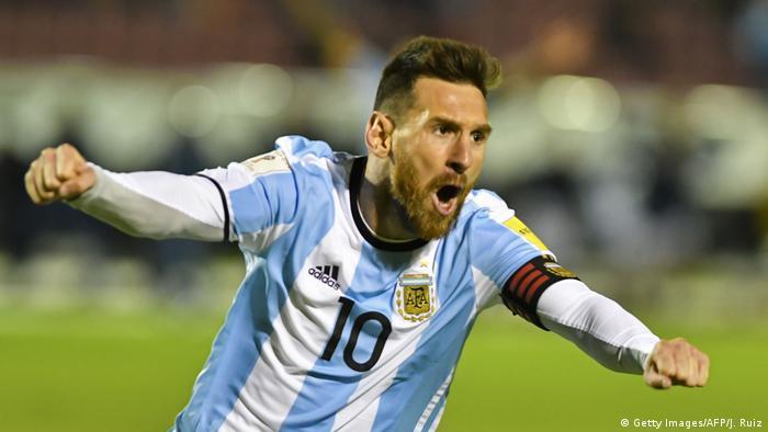 Fußball WM-Qualifikation 2018 Ecuador vs Argentinien