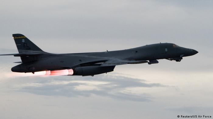 Japanisches Meer U.S. Air Force B-1B Langstreckenbomber
