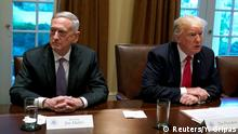 USA Donald Trump und James Mattis