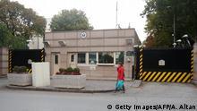 Türkei geschlossene US-Botschaft in Ankara
