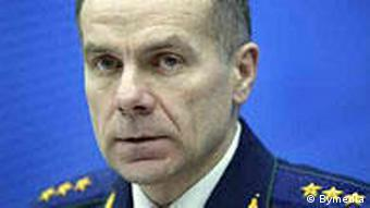Григорий Василевич в бытность генпрокурором Беларуси (фото из архива)