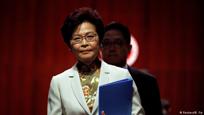 China Carrie Lam Regierungschefin Hong Kong (Reuters/B. Yip)