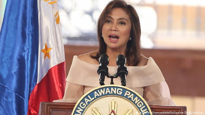 Leni Robredo, Vizepräsidentin von den Philippinen (picture-alliance/ANN/Philippine Daily Inquirer)