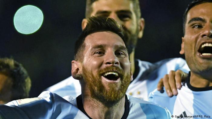 Fußball WM Qualifikation 2018 Argentinien - Ecuador (Getty Images/AFP/J. Ruiz)