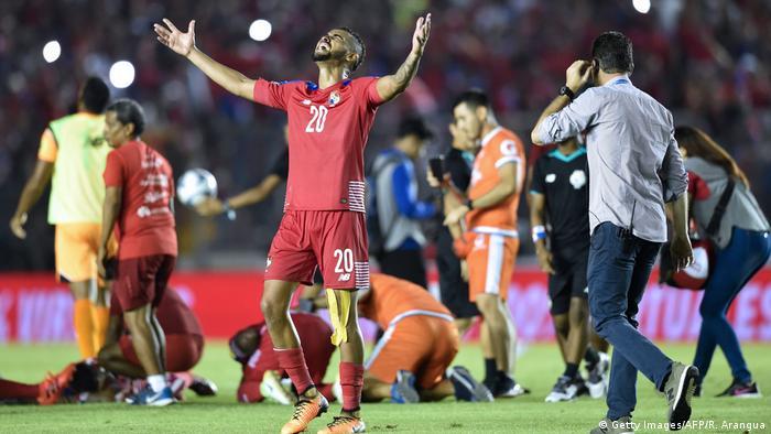 Fußball WM Qualifikation 2018 Panama - Costa Rica (Getty Images/AFP/R. Arangua)