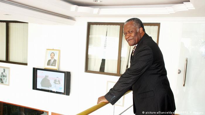 Cameroonian lawyer Akere Muna