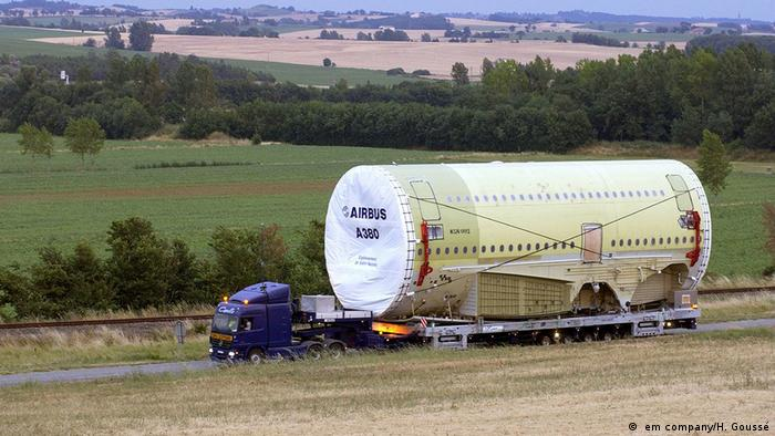 10 years of the Airbus 380 (em company/H. Goussé)