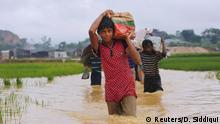 Bangladesch Überschwemmungen Flüchtlinge