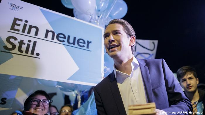 Campaign rally for Sebastian Kurz (Getty Images/AFP/G. Hochmuth)