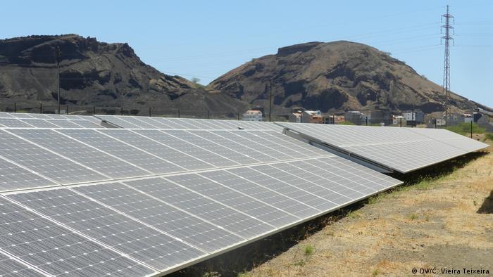 Kapverden Solaranlage Kap Verde