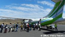 Kapverden Flugzeug TACV