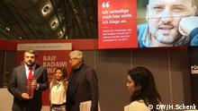 Frankfurter Buchmesse Ahmet Sik bekommt Raif Badawi Preis