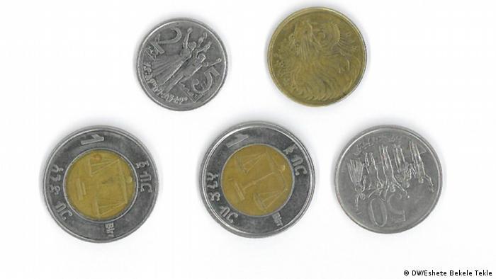 Äthiopien Währung Birr (DW/Eshete Bekele Tekle)