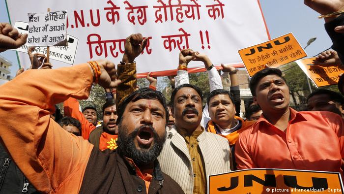 Indien Hindu-Nationalisten Protest