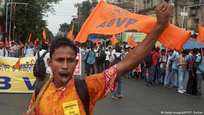 Indien Hindu-Nationalisten Protest (Getty Images/AFP/Y. Sarkar)