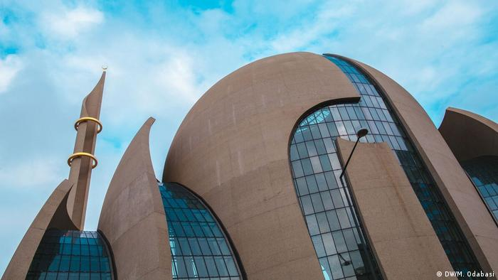 DITIB's central mosque in Cologne, Germany