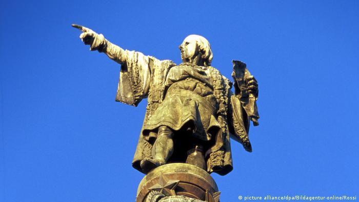 Monumento a Colón en la Plaza del Portal de la Pau, Barcelona