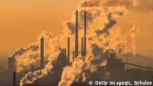 OBERHAUSEN, GERMANY - JANUARY 06: Steam and exhaust rise from the chemical company Oxea (front) and the coking plant KBS Kokereibetriebsgesellschaft Schwelgern GmbH (behind) on a cold winter day on January 6, 2017 in Oberhausen, Germany. According to a report released by the European Copernicus Climate Change Service, 2016 is likely to have been the hottest year since global temperatures were recorded in the 19th century. According to the report the average global surface temperature was 14.8 degrees Celsius, which is 1.3 degrees higher than estimates for before the Industrial Revolution. Greenhouse gases are among the chief causes of global warming and climates change. (Photo by Lukas Schulze/Getty Images)