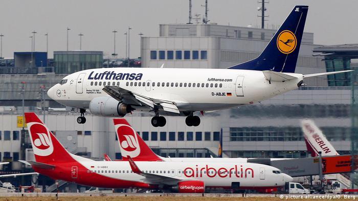 Deutschland Lufthansa & Air Berlin | Symbolbild Übernahme