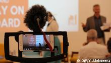 Georgien Media Viability Forum der DW Akademie | Beitrag Ukraine