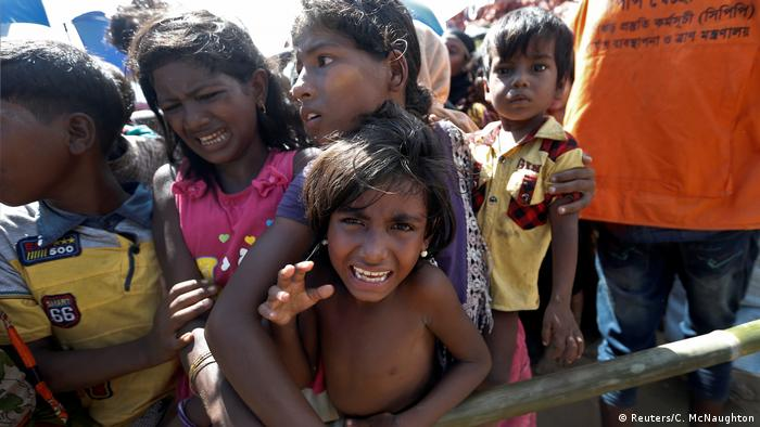 Bangladesch Rohingya Flüchtlinge im Camp Cox's Bazar (Reuters/C. McNaughton)