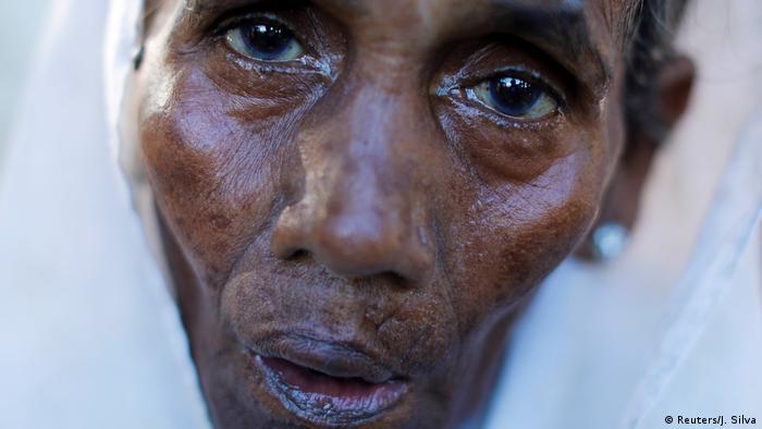 Bangladesch Rohingya Flüchtlinge in Palang Khali (Reuters/J. Silva)