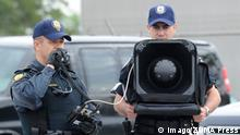 Kanada Polizei Long Range Acoustic Device LRAD