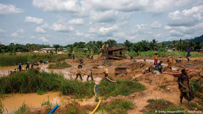 Ghana Goldmine in Kibi (Getty Images/AFP/C. Aldehuela)