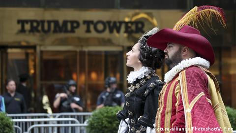 People attend Columbus Day parade on Manhattan's Fifth Avenue in New York