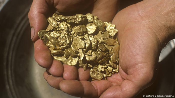 Gold Nuggets, Bonanza Gold Mine, Oregon