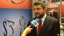 Screenshot DW türkisch - Can Atalay, Anwalt von Ahmet Şık