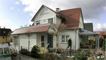 Home of German teen killer in Winnenden near Stuttgart