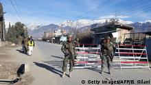 Pakistan - Grenzposten in Parachinar Hauptstadt des Kurram Tribal District