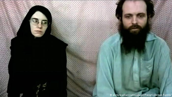 Joshua Boyle, Caitlan Coleman (picture-alliance/Candioan Press/Coleman Family)