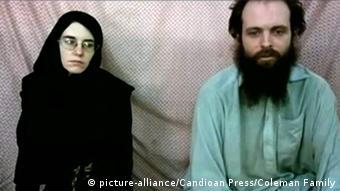 Joshua Boyle Caitlan Coleman Entführung Taliban (picture-alliance/Candioan Press/Coleman Family)