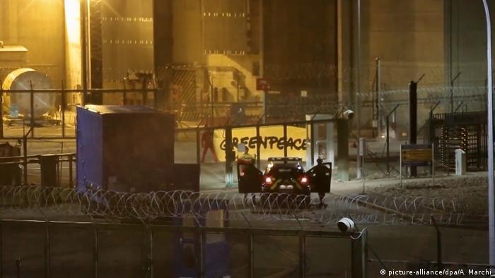 Frankreich Atomkraftwerk Cattenom Besetzung durch Greenpeace Aktivisten