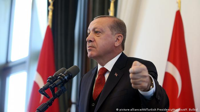Türkei Ankara - Erdogan hält Rede (picture-alliance/AA/Turkish Presidency/Handout/Y. Bulbul )