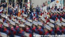 Spanien Nationalfeiertag Militärparade in Madrid